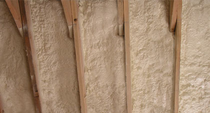 closed-cell spray foam for Laredo applications