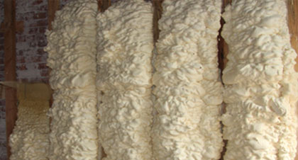 open-cell spray foam for Laredo applications